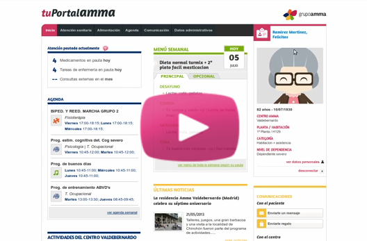 Video demo de tuPortalAMMA